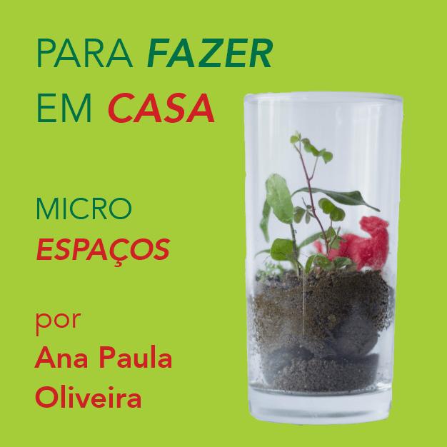 Microespaços com Ana Paula Oliveira
